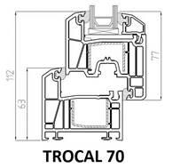 trocal 70 pvc profili
